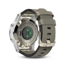 Умные часы Garmin Fenix 5S Sapphire с GPS, шампань с серым ремешком, фото 2