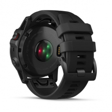 Умные часы Garmin Fenix 5x PLUS Sapphire, черные с черным ремешком, фото 8