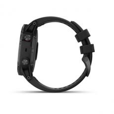 Умные часы Garmin Fenix 5x PLUS Sapphire, черные с черным ремешком, фото 9