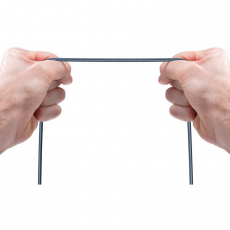Кабель Anker Powerline+ Micro USB, 1,8м, кевлар, 6000+, серый, фото 2