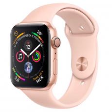 """Apple Watch Series 4, 40 мм, корпус из золотистого алюминия, спортивный ремешок цвета """"розовый песок"""", фото 1"""