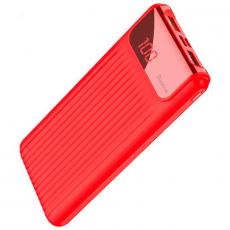 Внешний аккумулятор Baseus Power bank Wireless Charge, 2 USB-A, Micro-USB, 10000 mAh, красный, фото 1