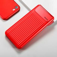 Внешний аккумулятор Baseus Power bank Wireless Charge, 2 USB-A, Micro-USB, 10000 mAh, красный, фото 3