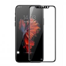 Защитное стекло 5D 9H с тонкой черной окантовкой для iPhone X, фото 1