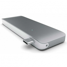 "Хаб Satechi Type-C Adapter, с USB-C, ""серый космос"", фото 2"