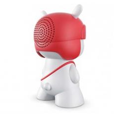Портативная колонка Xiaomi Rabbit Bluetooth Speaker, белая/красная, фото 2