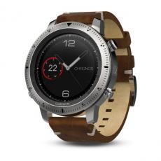 Умные часы Garmin Fenix Chronos, с кожаным браслетом, фото 1