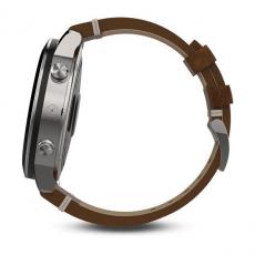 Умные часы Garmin Fenix Chronos, с кожаным браслетом, фото 3