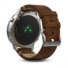 Умные часы Garmin Fenix Chronos, с кожаным браслетом, фото 4