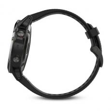 Умные часы Garmin Fenix 5 с GPS, серые с черным ремешком, фото 4
