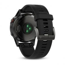 Умные часы Garmin Fenix 5 с GPS, серые с черным ремешком, фото 6
