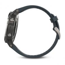 Умные часы Garmin Fenix 5 с GPS, с синим ремешком, фото 7