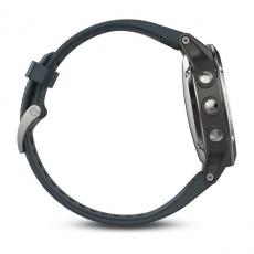 Умные часы Garmin Fenix 5 с GPS, с синим ремешком, фото 8
