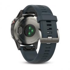 Умные часы Garmin Fenix 5 с GPS, с синим ремешком, фото 9