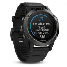 Умные часы Garmin Fenix 5 с GPS, серые с черным ремешком и нагрудным пульсометром, фото 2
