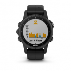 Умные часы Garmin Fenix 5S PLUS Sapphire, черные с черным ремешком, фото 7