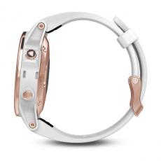 Умные часы Garmin Fenix 5S Sapphire с GPS, розовое золото с белым ремешком, фото 4