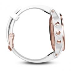 Умные часы Garmin Fenix 5S Sapphire с GPS, розовое золото с белым ремешком, фото 5