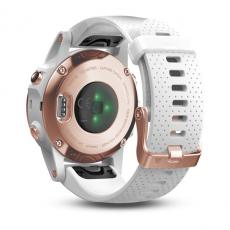 Умные часы Garmin Fenix 5S Sapphire с GPS, розовое золото с белым ремешком, фото 6