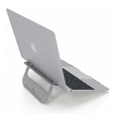 Алюминиевая подставка Satechi Aluminum Laptop Stand для MacBook, серебристый, фото 2