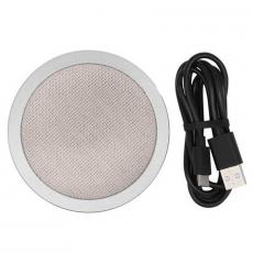 Беспроводное зарядное устройство Rock W4, серебристый, фото 3