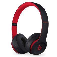 Беспроводные наушники Beats Solo 3 Wireless, чёрно/красные, фото 1