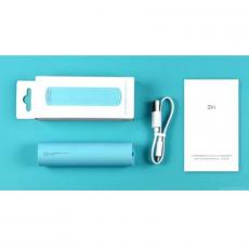 Внешний аккумулятор Xiaomi ZMI Power Bank, 3000 mAh, USB-A, бирюзовый, фото 3