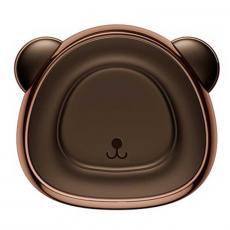 Держатель автомобильный Baseus Bear, магнитный, коричневый, фото 1