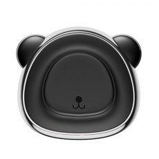 Держатель автомобильный Baseus Bear, магнитный, серый, фото 1