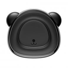 Держатель автомобильный Baseus Bear, магнитный, черный, фото 1