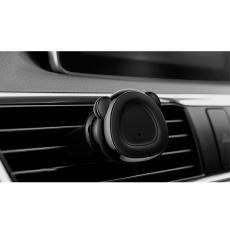 Держатель автомобильный Baseus Bear, магнитный, черный, фото 4
