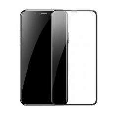 Защитное стекло Baseus Curved-Screen Protector 0.23mm для iPhone Xs Max, черное, фото 1