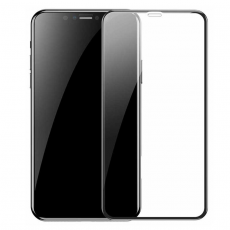 Защитное стекло Baseus Full coverage curved для iPhone XR, чёрный, фото 1