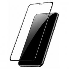 Защитное стекло Baseus Full coverage curved для iPhone XR, чёрный, фото 3