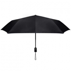 Зонт Mijia Automatic Umbrella, черный, фото 4