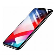 Комплект защитных стекол Baseus Glass 0.2mm для iPhone Xs Max, прозрачный, фото 1