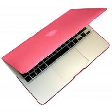 Чехол-накладка MacCase для Macbook Air/Pro/ProRetina, розовый, фото 1