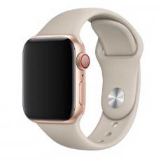 Ремешок Apple спортивный для Apple Watch 42 мм, SM/ML, бежевый, фото 1