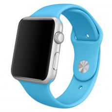 Ремешок Apple спортивный для Apple Watch 42 мм, голубой, фото 1
