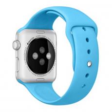 Ремешок Apple спортивный для Apple Watch 42 мм, голубой, фото 2