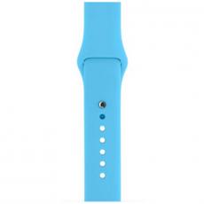 Ремешок Apple спортивный для Apple Watch 42 мм, голубой, фото 4