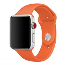 Ремешок Apple спортивный для Apple Watch 42 мм, оранжевый, фото 1