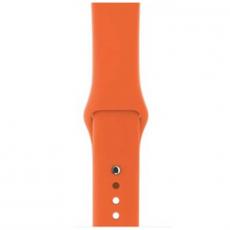 Ремешок Apple спортивный для Apple Watch 42 мм, оранжевый, фото 2