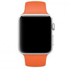 Ремешок Apple спортивный для Apple Watch 42 мм, оранжевый, фото 3