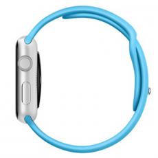 Ремешок Apple спортивный для Apple Watch 38 мм, оригинал, голубой, фото 3