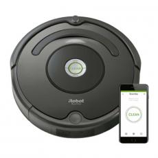 Робот-пылесос iRobot Roomba 676, серый, фото 1