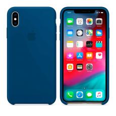 Силиконовый чехол для iPhone XS, цвет «морской горизонт», фото 2