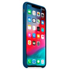 Силиконовый чехол для iPhone XS, цвет «морской горизонт», фото 3