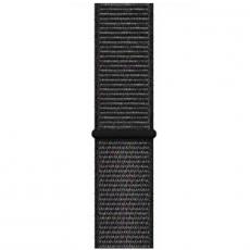 Спортивный браслет для Apple Watch 44 мм, черный, фото 3