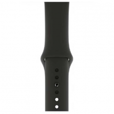 Спортивный ремешок для Apple Watch 44 мм, чёрный, фото 3